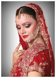 bridal makeup red dress with aquatechnics biz