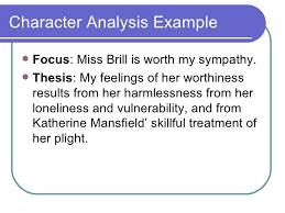 literary analysis essays djd  5 character analysis