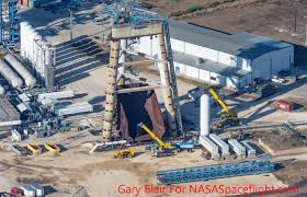Spacex Renovating Former Falcon 9 Test Stand At Mcgregor