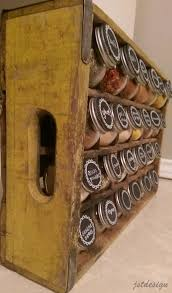 Decorative Spice Jars Diy Crafts Ideas I created this cocacola crate spice rack to 46