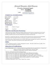 Qc Resume Samples Quality Control Technician Resume Yuriewalter Me