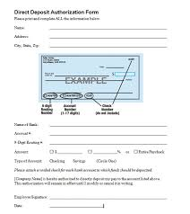 Direct Deposit Template Free 19 Intuit Direct Deposit Form Quickbooks Templates Study