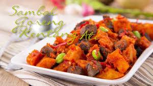 6 resep olahan sayur paling nikmat untuk buka puasa dan sahur. Resep Sambal Goreng Kentang Ati A La Selera Nusantara Youtube