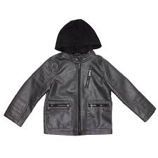 toddler boys moto faux leather jacket 2t 4t