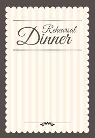 dinner template stamped rehearsal dinner free printable rehearsal dinner