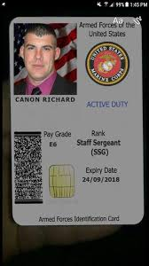Cards Scammers Military Fake Id By Created