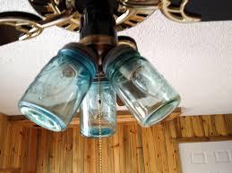 ceiling fan lights covers lovely mason jar ceiling fan jars globes light kit diy hunter