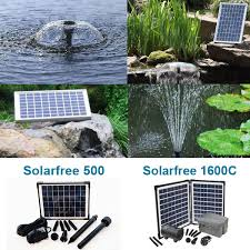 solarfree solar pump various sizes