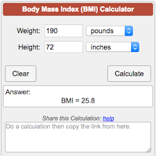 Bmi Index Chart Bmi Calculator Body Mass Index