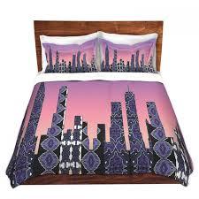 artistic duvet covers and shams bedding susie kunzelman pantone new york skyline