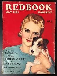 Redbook May 1932 McClelland Barclay Cover, Rufus King   eBay