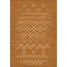 sunshine collection natural 8 ft x 10 ft outdoor patio area rug