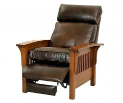 small leather recliners awesome small leather chairs for small spaces home and interior simple design decor
