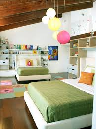 Paper Lantern Bedroom Baby Nursery Child Room Light Decor With Decorative Lamps Light