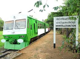 sri lanka railways has already made arrangements to operate a special train service between anuradhapura mihinta for the convenience of the poson