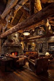cozy cabin decor lights home decor winter fire autumn country wood rustic cozy design interior cabin logs