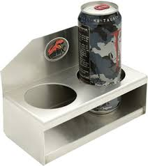 tow rax 2 cup drink holder aluminum