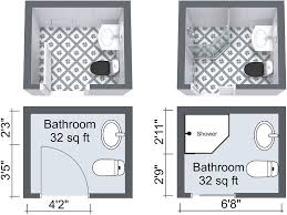 Very Small Bathroom Plans