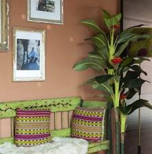 Tropical office plants Low Light Blooming Artificial 5ft Banana Tree Plant Office Plants Exotic Tropical Palm Sophiamillerinfo Blooming Artificial 5ft Banana Tree Plant Office Plants Exotic