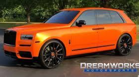 Dawg Pound Orange Obj Orders Custom Browns Themed Rolls Royce