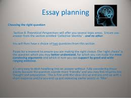 planning an a media studies answer essay planningchoosing the right question section b theoretical perspectives will offer you several topic areas