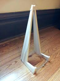 diy picture frame stand picture frame stand backs modern easel pertaining to 8 diy photo frame