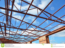steel roof trusses roofing construction metal roof frame house construction with steel roof trusses details