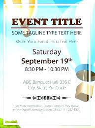 15 Free Event Flyer Templates Sample Paystub