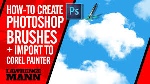 How To Make A Cloud Brush In Photoshop And Import It Into Corel