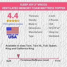 twin mattress thickness. Sleep Joy 2\ Twin Mattress Thickness D