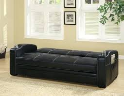 black faux leather couch black faux leather futon sofa bed