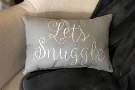 decorative pillows with words. Beautiful With Pillow Throw Decorative Letu0027s Snuggle Words  Sayings Quote Lumbar Pillow Wedding Gift By SimplySaidStitches  To Pillows With