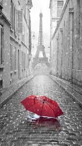 Paris France Rain Eiffel Tower IPhone Wallpaper Resolution 1080x1920