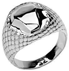 Купить Эстет <b>Кольцо коллекции Totem</b> Snake/Змея из серебра ...