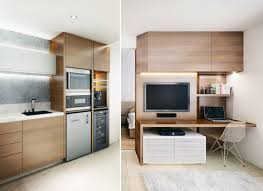 apartment kitchen ideas. Kitchen, Small Kitchen Ideas Apartment Smooth Square White Leather Tuffet Brown Wooden Cabinet Round Orange