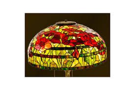 stained glass poppy table lamp lampshade stained glass shade lamp desk stained glass art standing lamp stained glass table lamp