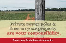 private power poles