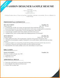Latest Resume Sample Best Of Fashion Stylist Resume Fashion Resume Examples Fashion Designer