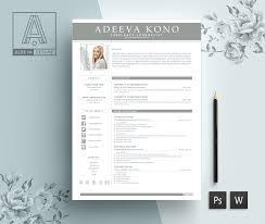 Professional Resume Template Kono Instructions Editing