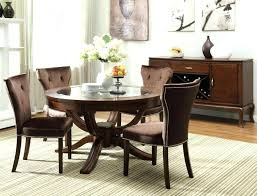 round glass dining table and chairs small glass dining table set round glass kitchen table sets