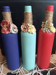 How To Decorate A Bottle Of Wine Pin Decorated Wine Bottles on Pinterest 91