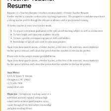 Sample Resume For Teachers Job Resume For Teaching Job Blaisewashere Com