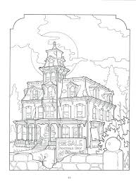 Gingerbread House Coloring Coloring Book Pages House The House