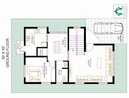30 50 house plans 3 bedroom new bhk floor plan for x plot lovely 30x50