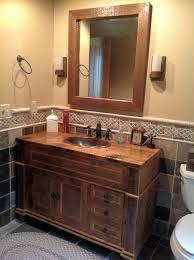 Barnwood Bathroom Barn Wood Bathroom Barn Wood Furniture Rustic Furniture Log