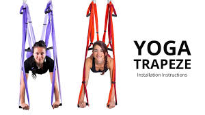 Yoga Trapeze Yoga Swing Setting Hanging Instructions