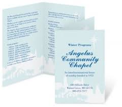 Church Program Template How To Make Church Programs That Look Great Paperdirect Blog