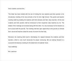 Letter Of Introduction Teacher Unique 48 Sample Introduction Letters To Download For Free Sample Templates