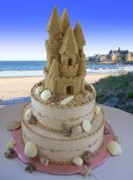 Sand Castle Wedding Cakeomg At Lee Thomas At Candice Sanchez At Leslie