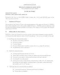 design statement of work design scope of work template